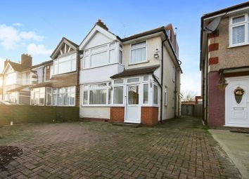 Thumbnail 4 bed semi-detached house for sale in Summit Road, Northolt