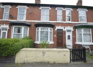 Thumbnail 3 bed terraced house to rent in Hordern Road, Wolverhampton
