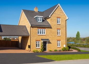 """Thumbnail 3 bedroom terraced house for sale in """"Queensville"""" at Southern Cross, Wixams, Bedford"""