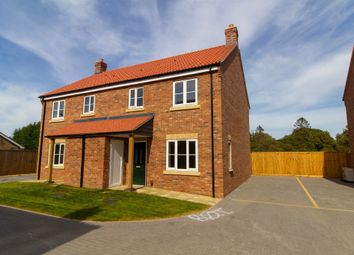 Thumbnail 3 bedroom semi-detached house for sale in Magdalen Road, 9 Orchard Close, Tilney St. Lawrence, King's Lynn