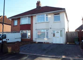Thumbnail 3 bed semi-detached house for sale in Elmes Drive, Southampton