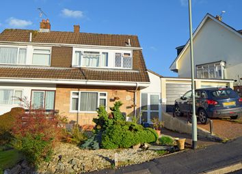 Thumbnail 4 bed semi-detached house for sale in Anstey Crescent, Tiverton