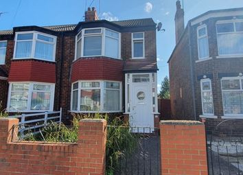 Thumbnail 3 bed end terrace house for sale in Luton Road, Hull