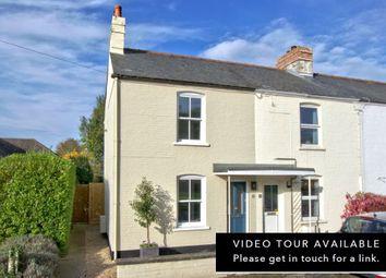 Thumbnail 2 bed end terrace house for sale in The Lane, Hauxton, Cambridge