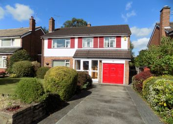 Thumbnail 4 bed detached house for sale in Woburn Drive, Hale, Altrincham
