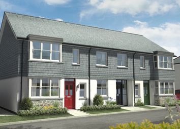 Thumbnail 3 bedroom end terrace house for sale in Habbacott Rise, Cornwall