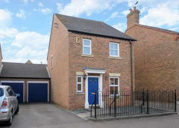 Thumbnail 3 bed link-detached house to rent in Chalford Way, Aylesbury