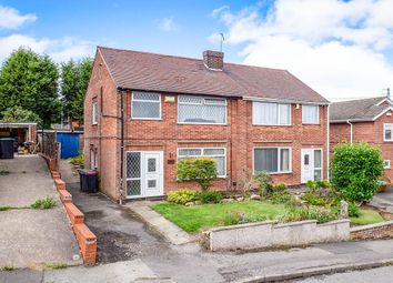 Thumbnail 3 bed semi-detached house for sale in Kirby Road, Newthorpe, Nottingham