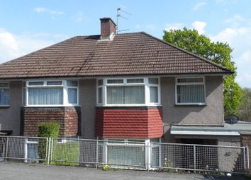 Thumbnail 3 bed semi-detached house for sale in Glanwern Grove, Newport