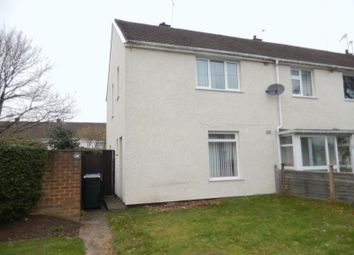 Thumbnail 2 bedroom end terrace house for sale in Dunhill Avenue, Tile Hill, Coventry