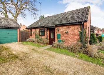 Thumbnail 2 bed detached bungalow for sale in Cannell Road, Loddon, Norwich