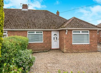 Thumbnail 3 bed semi-detached bungalow for sale in Wood View Road, Hellesdon, Norwich