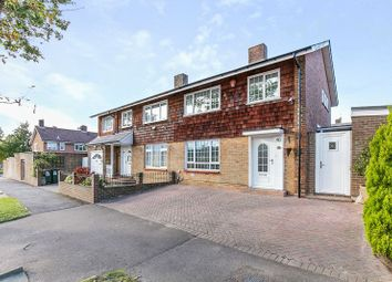 Thumbnail 3 bed semi-detached house for sale in Buckswood Drive, Gossops Green, Crawley