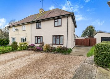 Thumbnail 3 bed semi-detached house for sale in Wix Road, Ramsey, Harwich