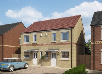 Thumbnail 2 bed semi-detached house for sale in Bedford Sidings, South Church Road, Bishop Auckland, County Durham