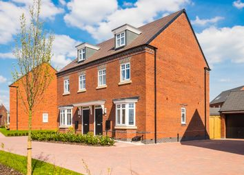 "Thumbnail 3 bed end terrace house for sale in ""Kennett"" at Albert Hall Place, Coalville"