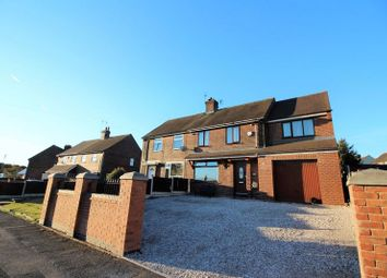 Thumbnail 4 bed semi-detached house for sale in Bradwell Lane, Bradwell, Newcastle Under Lyme
