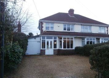 Thumbnail 3 bed semi-detached house for sale in Worcester Lane, Four Oaks, Sutton Coldfield