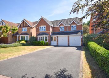 Thumbnail 5 bed detached house for sale in Longlands Drive, West Bridgford, Nottingham