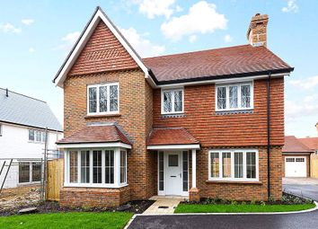 Thumbnail 4 bed detached house for sale in Willowbrook, Elmbridge Road, Cranleigh, Surrey