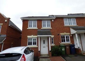 Thumbnail 2 bed terraced house for sale in Churchside Gardens, Easington Lane, Houghton Le Spring