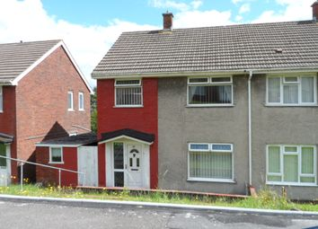 Thumbnail 3 bed semi-detached house to rent in Heol Gwyr, Llanelli
