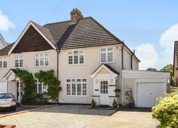 Thumbnail 3 bed semi-detached house for sale in Thorpe Village, Surrey