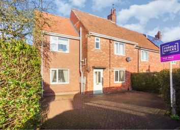 Thumbnail 4 bedroom end terrace house for sale in Shelley Drive, Lincoln