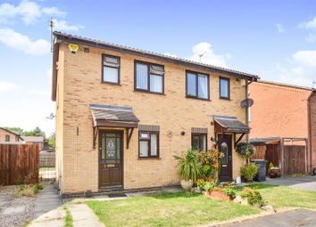 Thumbnail 2 bed semi-detached house for sale in Windsor Close, Mountsorrel, Loughborough