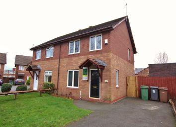 Thumbnail 3 bedroom semi-detached house for sale in Lawnside Close, Rock Ferry, Birkenhead