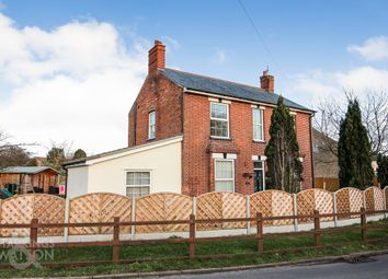 Thumbnail 4 bed detached house for sale in The Street, Gillingham, Beccles