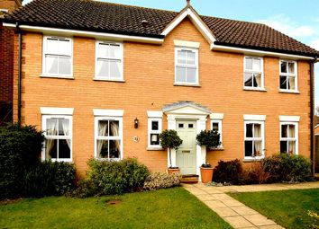 Thumbnail 4 bed detached house for sale in Victoria Drive, Kings Hill, West Malling