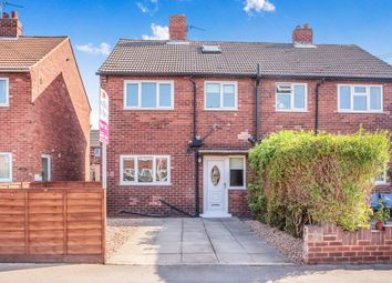 Thumbnail 2 bed semi-detached house for sale in Priory Road, Featherstone, Pontefract
