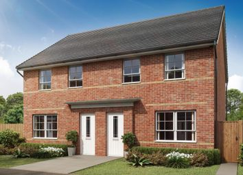 "Thumbnail 3 bed semi-detached house for sale in ""Maidstone"" at Lake Road, Hamworthy, Poole"