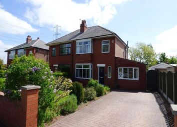 Thumbnail 3 bed semi-detached house for sale in Croston Road, Farington Moss, Leyland