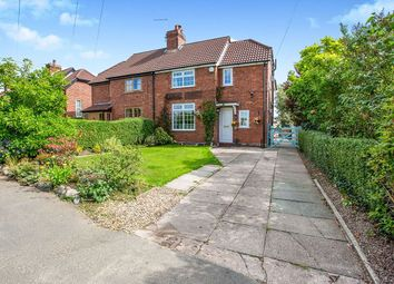 Thumbnail 3 bed semi-detached house for sale in Chapel Lane, Acton Bridge, Northwich