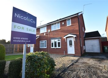 Thumbnail 3 bed semi-detached house for sale in Turners Close, Worcester, Worcestershire
