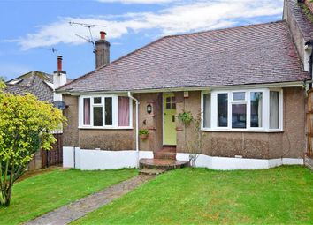 Thumbnail 3 bed semi-detached bungalow for sale in Steep Lane, Findon Village, Worthing, West Sussex