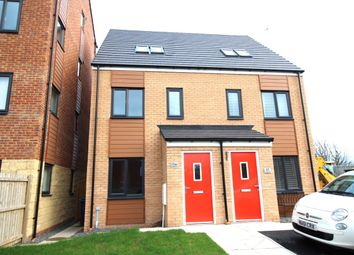 Thumbnail 3 bed semi-detached house to rent in St. Nicholas Way, Hebburn