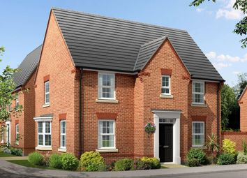 "Thumbnail 4 bedroom detached house for sale in ""Hollinwood"" at Kingston Way, Market Harborough"