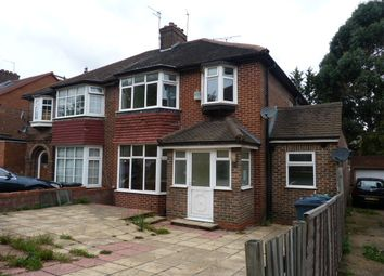 Thumbnail 4 bed semi-detached house to rent in The Vale, Golders Green, London