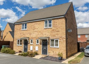 Thumbnail 2 bed semi-detached house for sale in Flinders Drive, Hempsted, Peterborough