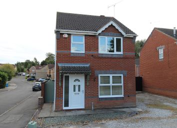 Thumbnail 3 bed detached house for sale in St. Marks Close, Worksop