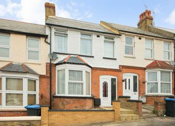 Thumbnail 3 bed terraced house for sale in Fitzroy Avenue, Margate