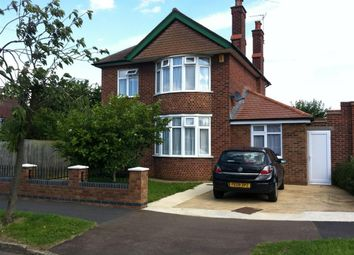 Thumbnail 4 bedroom property to rent in Grimshaw Road, Peterborough