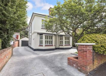Thumbnail 3 bed detached house for sale in Upper Gordon Road, Camberley, Surrey