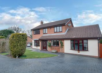 Thumbnail 4 bedroom detached house for sale in Grazing Lane, Webheath, Redditch