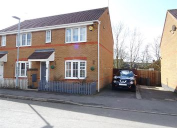 Thumbnail 3 bed semi-detached house for sale in Trent Bridge, Coalville, Leicestershire