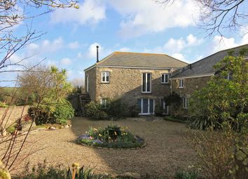 Thumbnail 4 bedroom barn conversion for sale in Boswinger, St. Austell