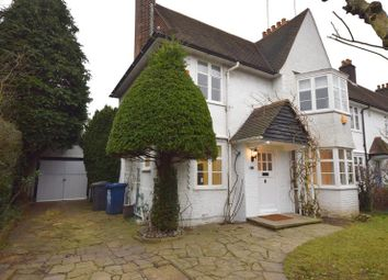 Thumbnail 4 bed semi-detached house for sale in Willifield Way, Hampstead Garden Suburb